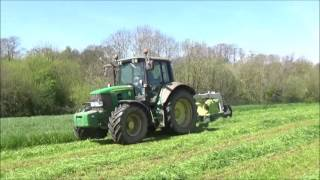 Mowing for Silage with John Deere 6430