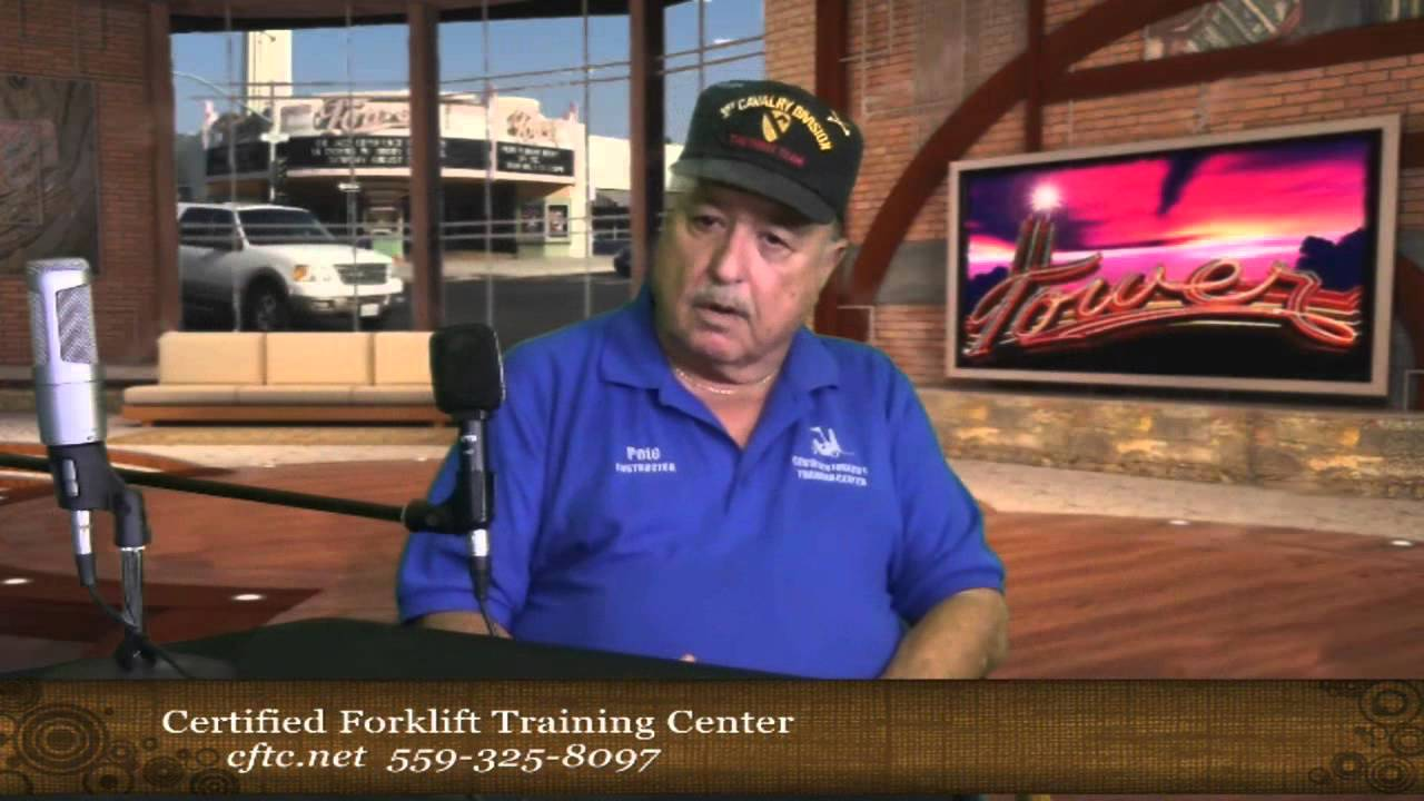 Peter Robles From The Certified Forklift Training Center On The