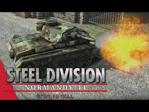 3rd APT Round 3 LB! Steel Division: Normandy 44 - Tarsh IV vs Theoman222 (Cheux, 1v1)
