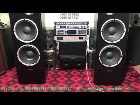 Loa Cây Kenwood 2 Bass25 Giá 5tr5-JK Audio 0963889192 - 0965503357