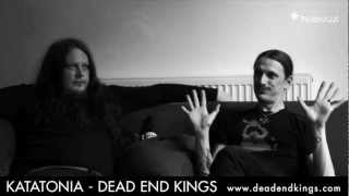 Katatonia - Jonas and Per discuss the making of 'Dead End Kings'