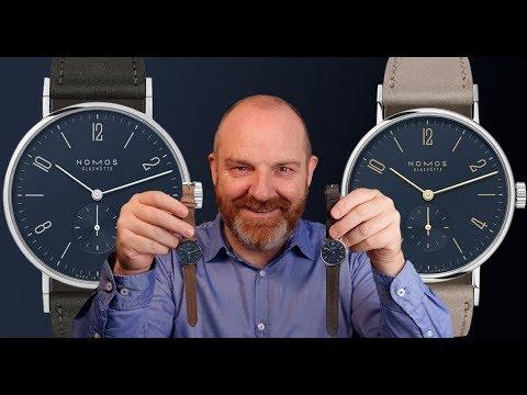 Nomos Tangente Midnight Blue - Dos Tamaños Para Un Fantástico Reloj