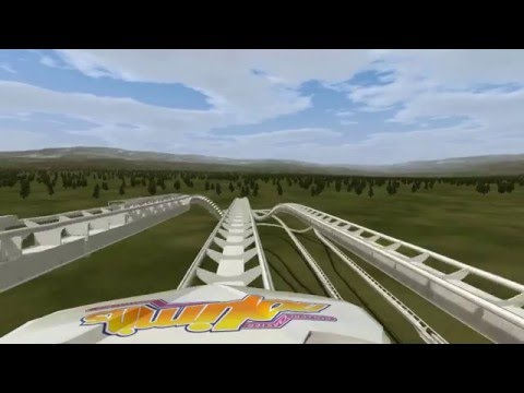 Triple Racing Coaster Preview 2