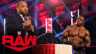 MVP reveals a new United States Championship: Raw, July 6, 2020