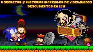 8 Secretos y Misterios de Videojuegos Descubiertos en 2019 - Pepe el Mago