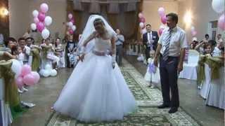 Свадебный танец невесты с папами (попурри)