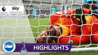 Horror-Verletzung bei Lloris | Brighton & Hove Albion - Tottenham Hotspur 3:0 | Highlights