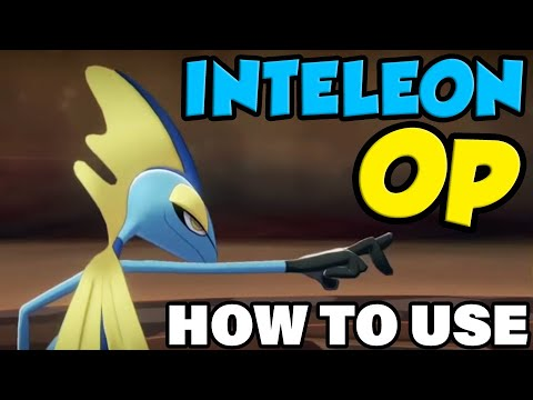 INTELEON OP! How To Use Inteleon In Pokemon Sword and Shield - Inteleon Moveset Guide