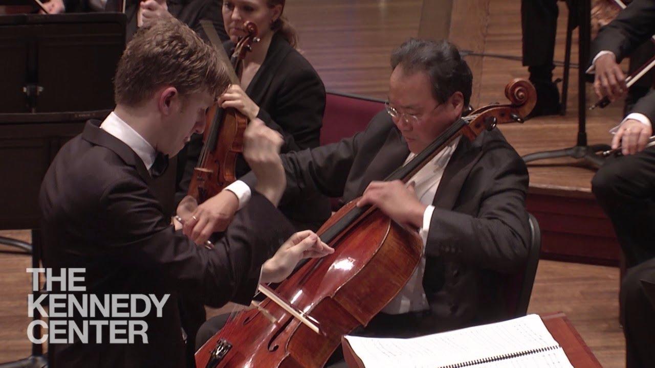"projector & orchestra   Yo-Yo Ma on John Williams' Classical ""Side"""