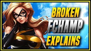 MVCI  This Character Is Broken FCh s Captain Marvel Compilation