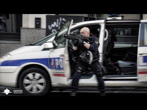 LOI TRAVAIL 23/6/2016 • PARIS : MANIFESTATION SAUVAGE À MENILMONTANT