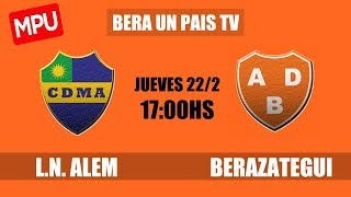 Leandro N. Alem vs Berazategui full match