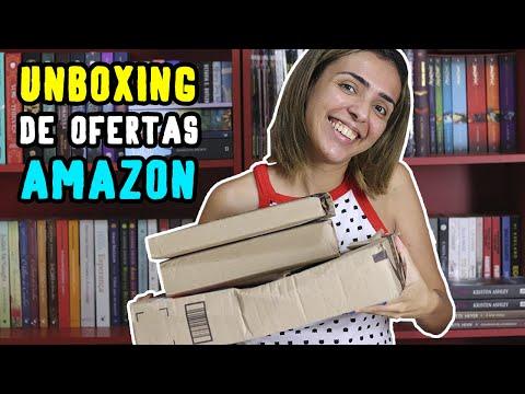UNBOXING DE LIVROS DA AMAZON - OFERTAS INCRÍVEIS | Thayana Fontes from YouTube · Duration:  12 minutes 38 seconds