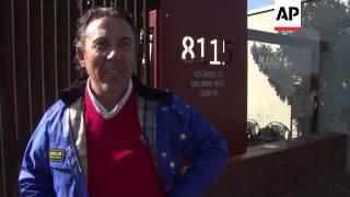 Ex-wife visits Mandela in hospital, residents of Soweto hope he