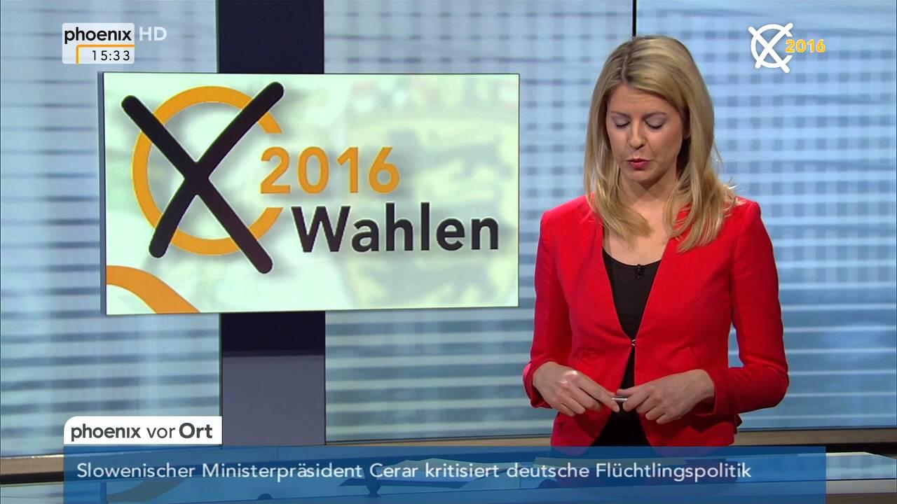 Landtagswahlen 2016: Reaktionen im Netz mit Sara Bildau am ...