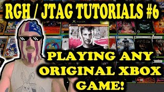 RGH / JTAG TUTORIALS # 6 - HOW TO INSTALL ANY ORIGINAL XBOX GAME ON YOU 360