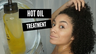 DIY Hot Oil Treatment for Dull, Dry, Frizzy Hair | Natural Hair