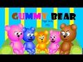 mega gummy bear finger family song cute gummy bear / funny gummy bear stories for kids toon tv