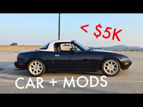 Building A Track/AutoX Miata For Under $5,000!!