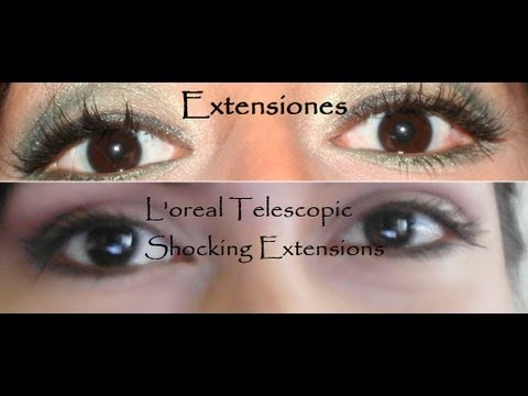 L'oreal Telescopic Shocking Extensions - Reseña - YouTube
