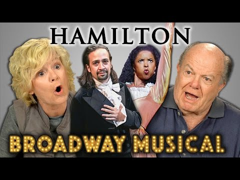 ELDERS REACT TO HAMILTON (Hip Hop Musical)