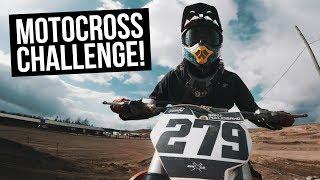 Vinkareen testissä motocross!