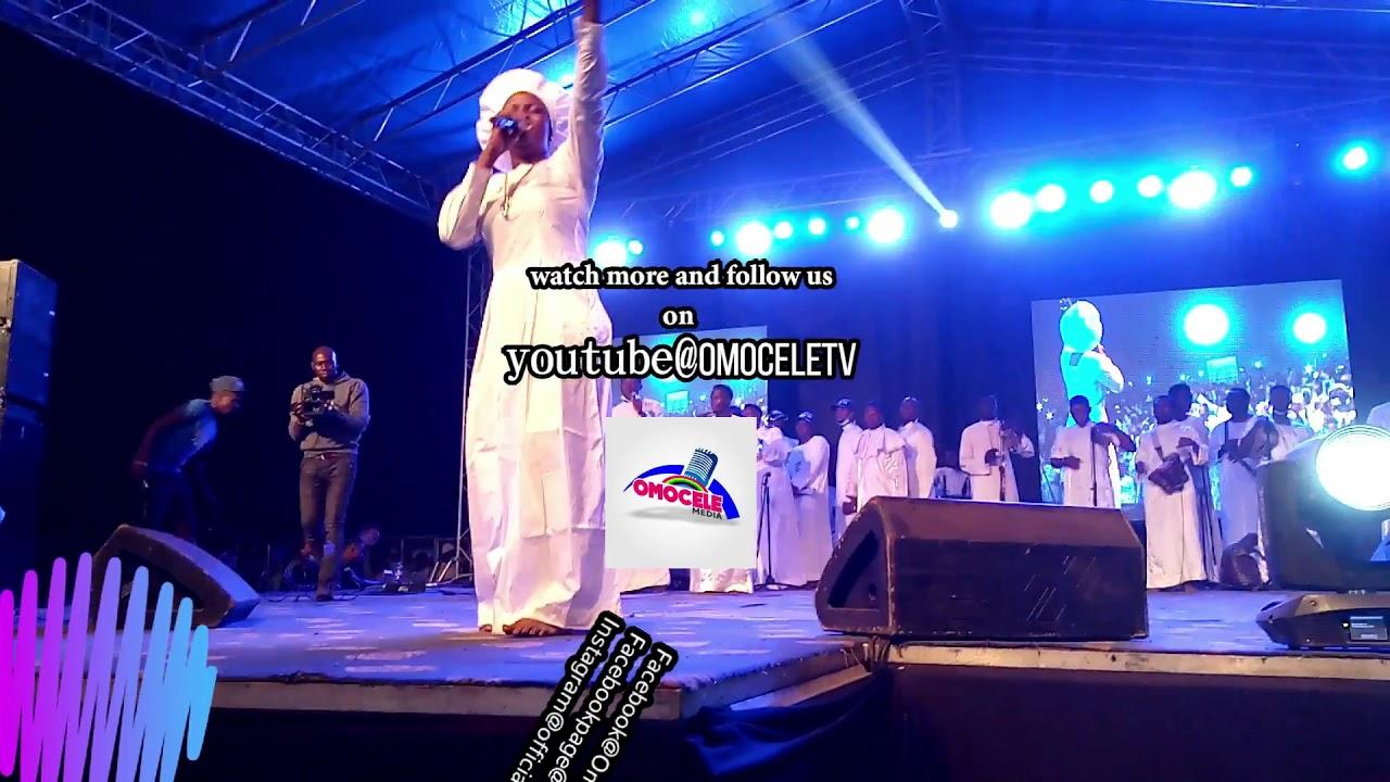 Download Tiwa lola shittu's Gospel hip hop mixed display at imeko festival of Praise