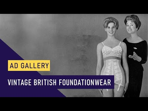 Vintage British Foundationwear - corsets, corselettes and girdles.
