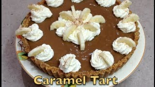 Caramel Pie No bake Thermochef Video Recipe cheekyricho