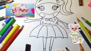 Рисуем Куклу Лалалупси Draw a doll  Lalaloopsy Lalaloopsy doll Очень просто рисовать Обучающее видео(Рисуем Куклу Лалалупси Lalaloopsy Очень просто рисовать Учимся рисовать куклу Таким рисунком можно украсить..., 2016-02-09T20:23:59.000Z)