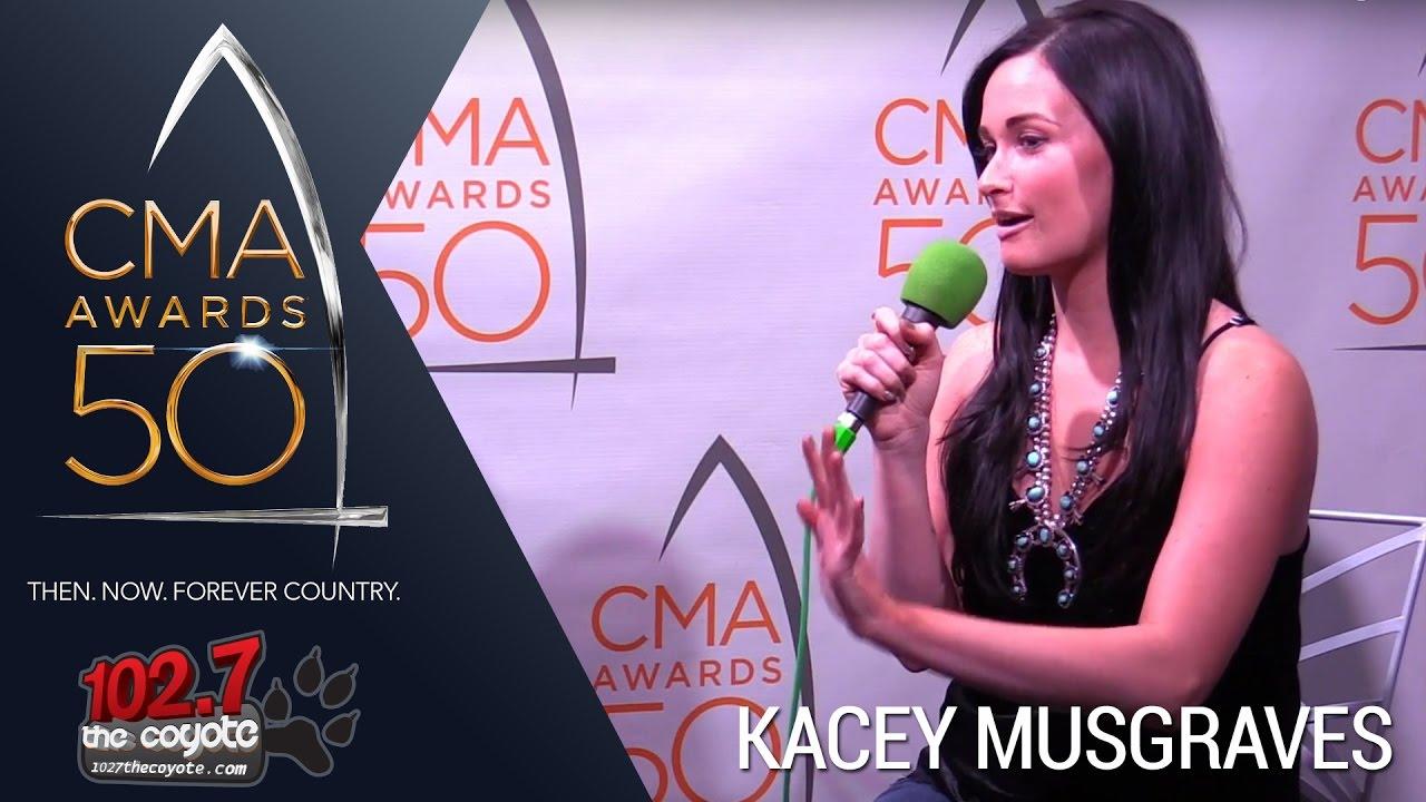 CMA Awards 50: Kacey Musgraves Talks New Christmas Album & More ...