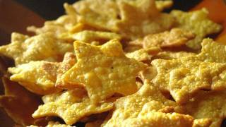 Recette indienne de biscuits salés Besan papdi