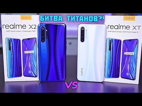 Realme X2 Vs Realme XT обзор-битва двух ТОПовых смартфонов! Очевидна ли разница?! [4K Review]