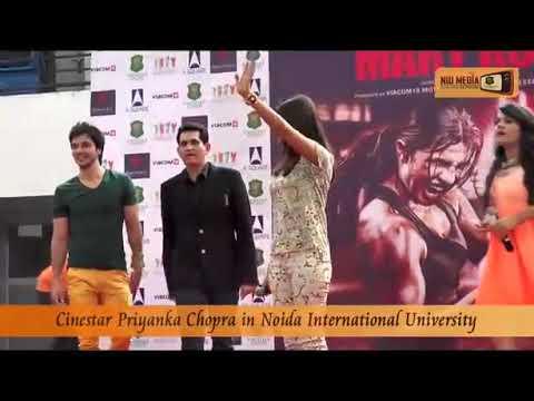 Priyanka Chopra At Noida International University Noida.
