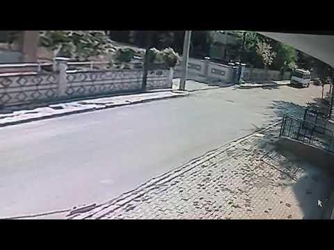 Karaman'da öğrenci servisi kazası