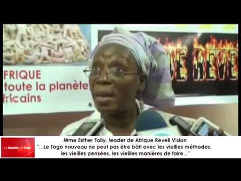 Mme Esther Folly, leader de Afrique Réveil Vision se prononc