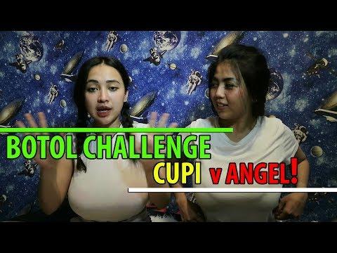 Botol Challenge Cupita Vs Angellinapinky