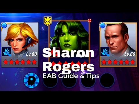 Marvel Future Fight - Sharon Rogers EAB Guide and Tips!