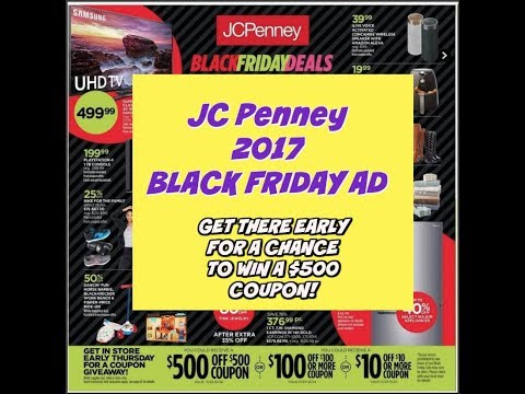 JC PENNEY 2017 BLACK FRIDAY AD   SNEAK PEEK   DOORBUSTERS COMING SOON!
