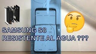 SAMSUNG S8 RESISTENTE AL AGUA ???? Mira lo que pasó !!!!!