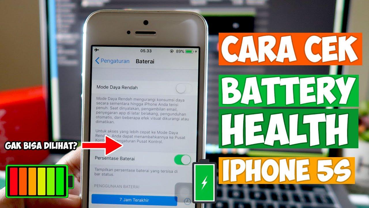 Cara Cek Kesehatan Baterai di iPhone 1s, Memang Bisa?