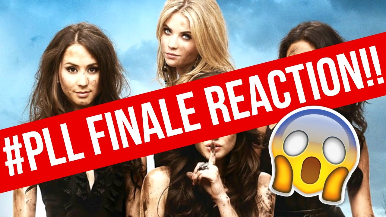 PRETTY LITTLE LIARS SEASON 6 FINALE REACTION!! #FACETOFACE ...