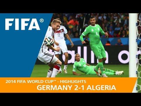 GERMANY v ALGERIA 21 - 2014 FIFA World Cup™