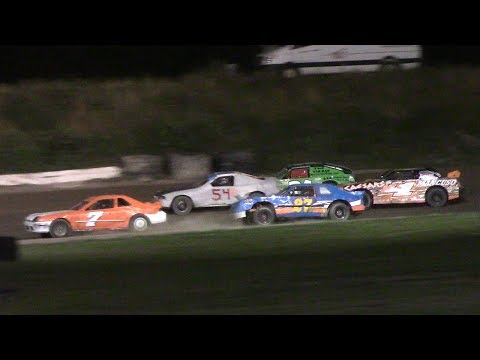 Mini Stock Feature | Genesee Speedway | 7-6-17