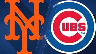 Quintana, big bats lead Cubs past Mets, 8-3: 9/12/17