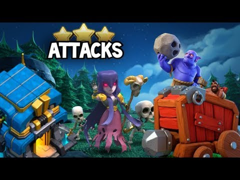 TH12 Electro Dragon, TH10 Witch-Bowler & More 3-Star Attacks!