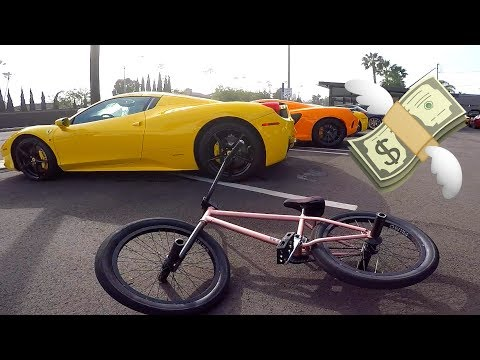 MOST EXPENSIVE SUPERCARS AND BMX