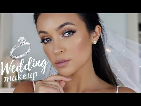 Wedding Makeup Tutorial: Soft Glam Bridal Look 2018