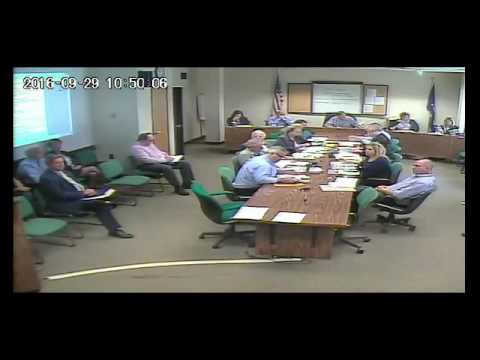 Finance, Personnel & Higher Education Committee September 29, 2016