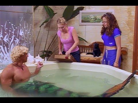 Sabrina gives Barnaby the Merman legs